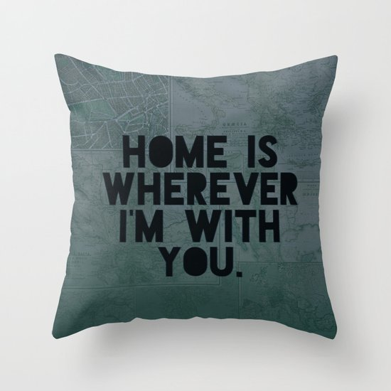 With You II Throw Pillow