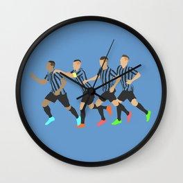 Inter Milan Celebration Print Wall Clock