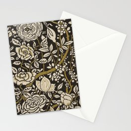 Nouveau Birds And Flowers Stationery Cards