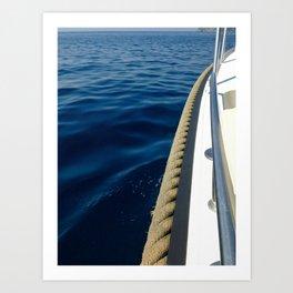 Boat Taxi Art Print