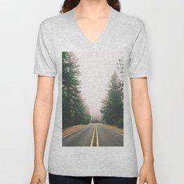 Follow the Road Unisex V-Neck