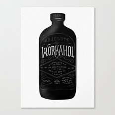 WORKAHOL Canvas Print