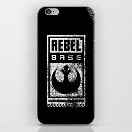 Rebel Base iPhone Skin