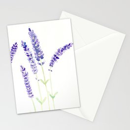 Lavender Sprigs Stationery Cards