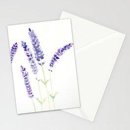 Lavender Sprigs Stationery Cards