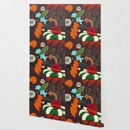 TROPICAL DESIGN AT NIGHT Wallpaper