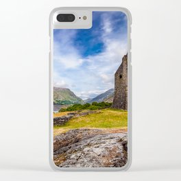 Dolbadarn Castle Clear iPhone Case