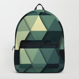 A Touch Of Green Backpack