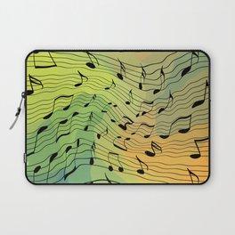 Music notes II Laptop Sleeve