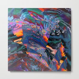 Which dimension are we in? Metal Print