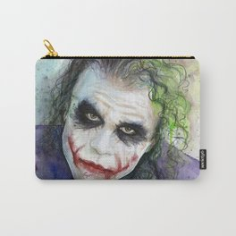 The Joker Watercolor Carry-All Pouch