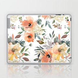 Peachy Keen Pattern Laptop & iPad Skin