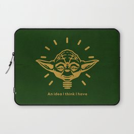 An idea i think i have Laptop Sleeve
