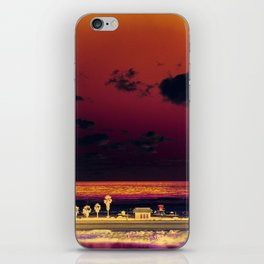 cardiff by the sea iPhone Skin