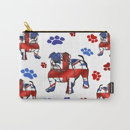 BRITISH BULLDOGS IN LONDON Carry-All Pouch