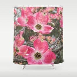 quixotic pink dogwood Shower Curtain