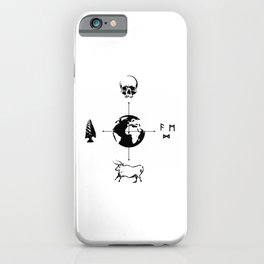 Anthropology: The Four Subdisciplines (Version 2.0) iPhone Case