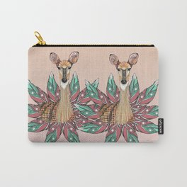 Deer Totem Carry-All Pouch