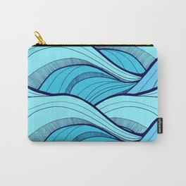 Lines in the waves Carry-All Pouch