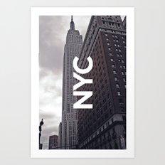 NYC Basic [8] Art Print