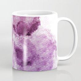 Purple Watercolor Spots Coffee Mug