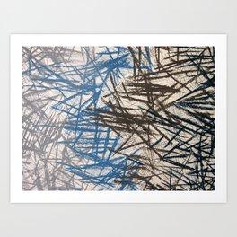 Dig Art Print