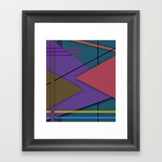 Abstract #413 Framed Art Print