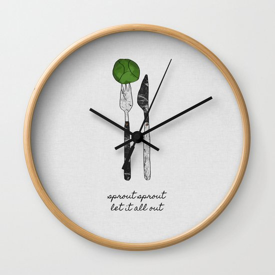 Sprout Sprout, Vegan, Vegetarian by paperpixelprints