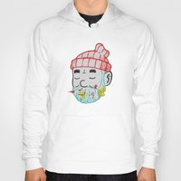 the life aquatic Hoodies featuring Aquatic Life by Derek Eads