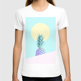 Tropical Pineapple Sunkissed #decor #popart #minimalist T-shirt