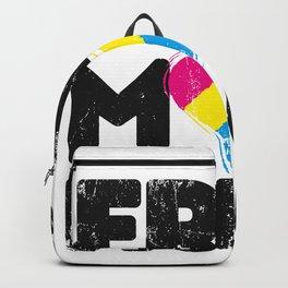 Free Mom Hugs Shirt, Free Mom Hugs Pan Pride LGBTQIA Backpack