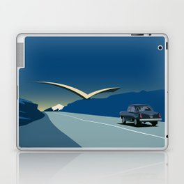 "Soviet Modernism: ""Seagull"" road mark at the northern entry of Yerevan Laptop & iPad Skin"