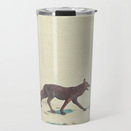 Wandering Wolf Travel Mug