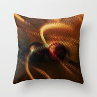anonymous Throw Pillows featuring Anonymous  by Irène Sneddon