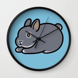 Netherland Dwarf Bunny Loaf Wall Clock