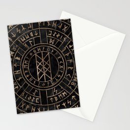 Web of Wyrd The Matrix of Fate- Marble and gold Stationery Cards