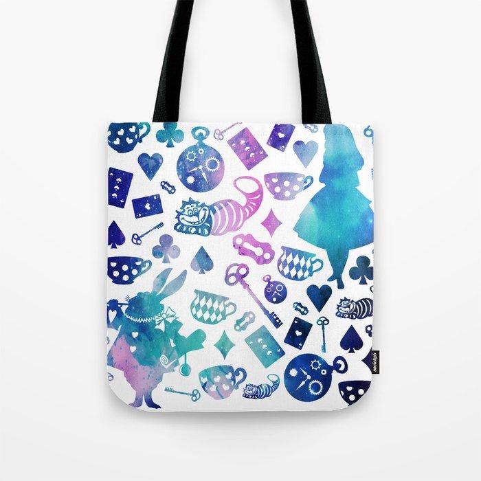 Alice in Wonderland - Galaxy W Tote Bag