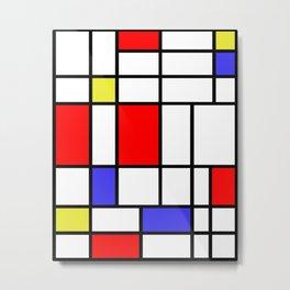 Mondrian #60 Metal Print