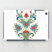 nordic iPad Cases featuring Nordic Rosemaling by Helen Borrowman Davison