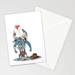 Walking Devil Stationery Cards