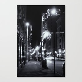 South Jefferson St. Canvas Print