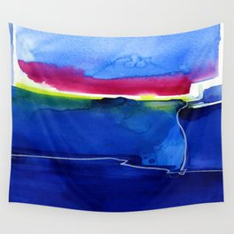 Meditations 33 by Kathy Morton Stanion Wall Tapestry