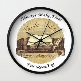Nicola Noble - Book Logo Wall Clock