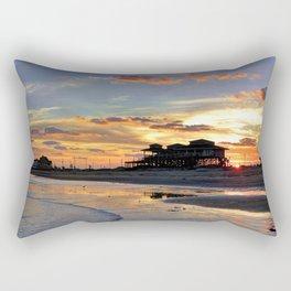 Galveston Island Rectangular Pillow
