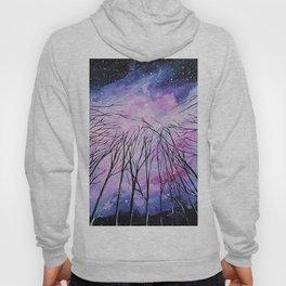 Galaxy, watercolor Hoody