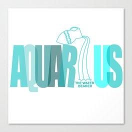 AQUARIUS - The Water Bearer Canvas Print