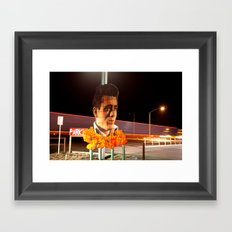 James Dean Fly by Night Framed Art Print