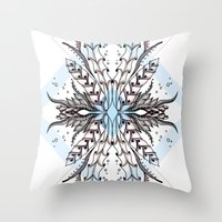 underwater Throw Pillows featuring Underwater by Barlena