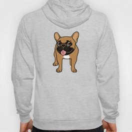 Black Mask Fawn French Bulldog is ready to play Hoody