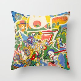 Who Does Your Love Serve? Throw Pillow